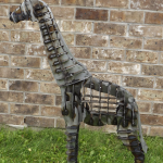 Metal Art - 3D Giraffe