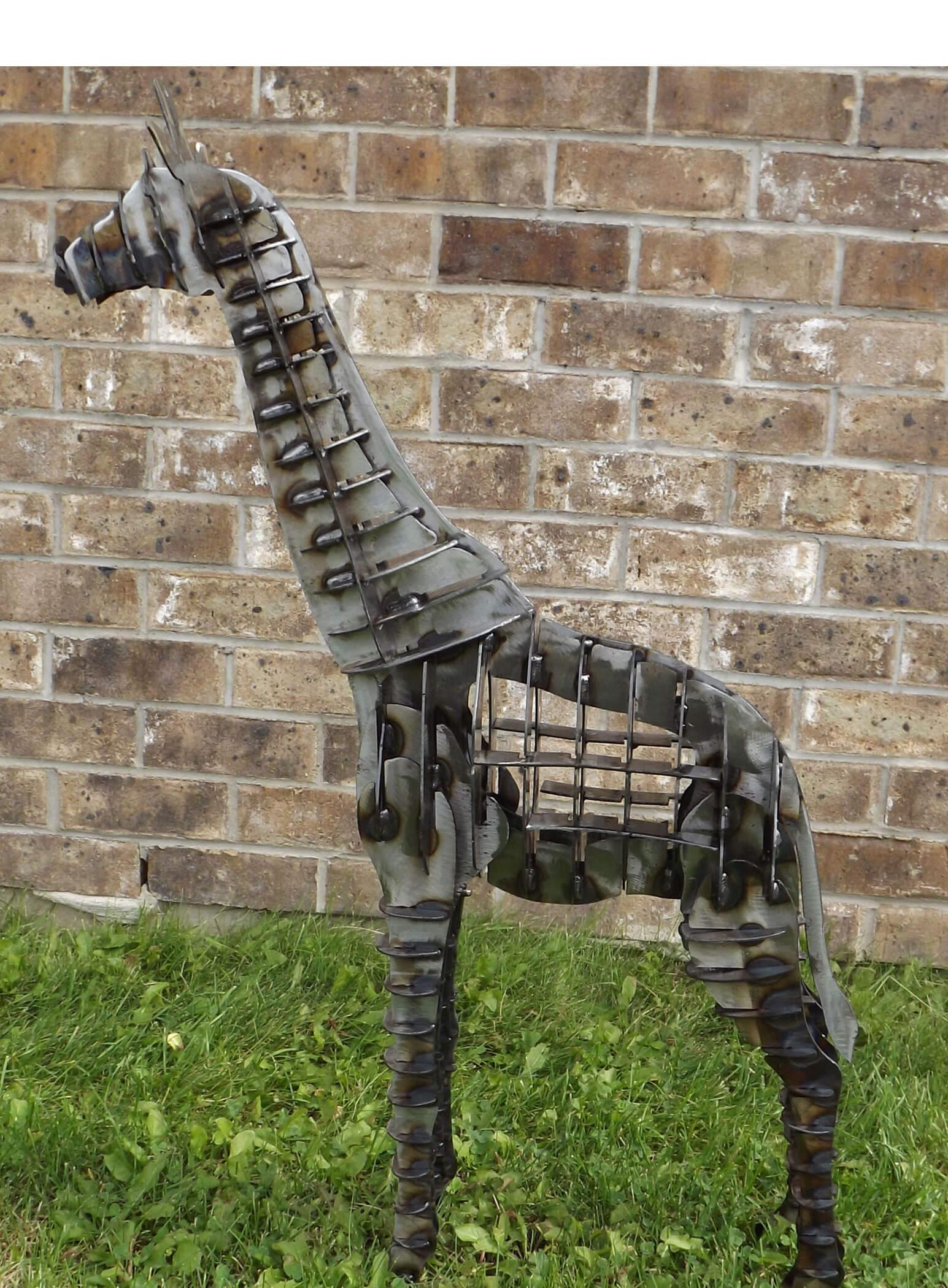 Metal Art - 3D Giraffe