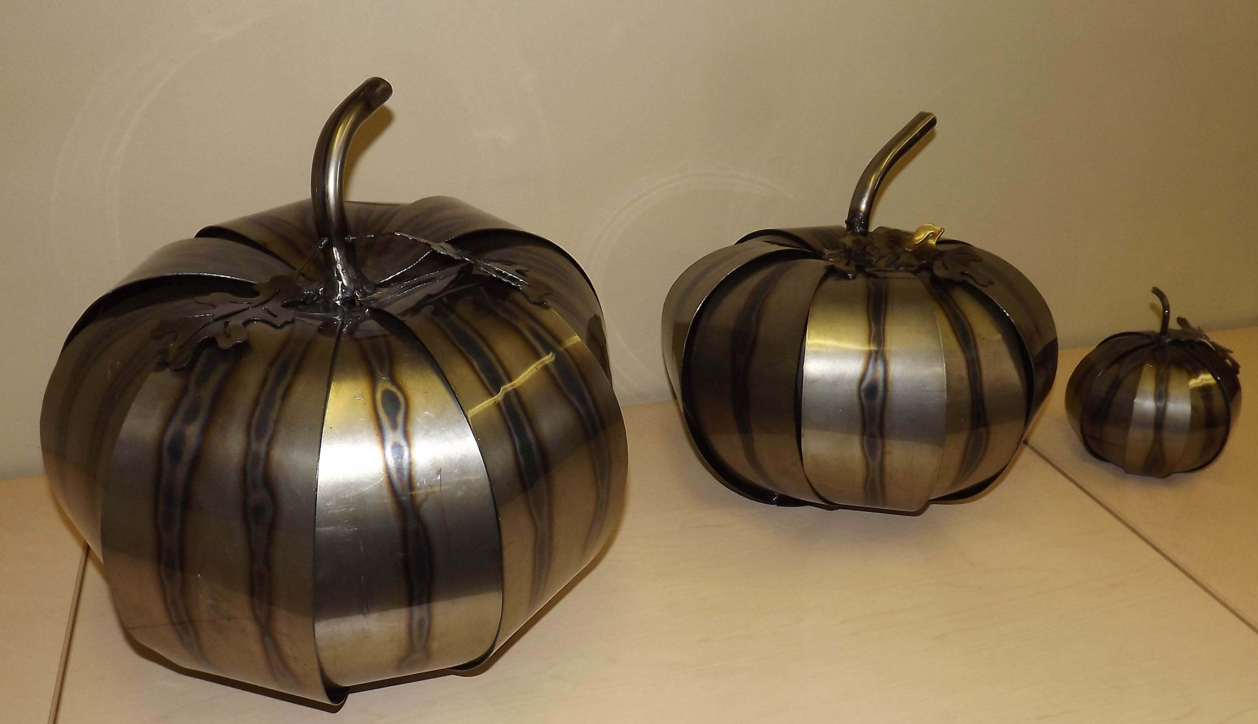 Metal Art - 3D Pumpkins
